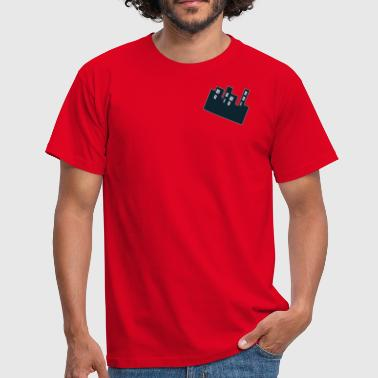 Highrise Building My Highrise (Red) - Men's T-Shirt