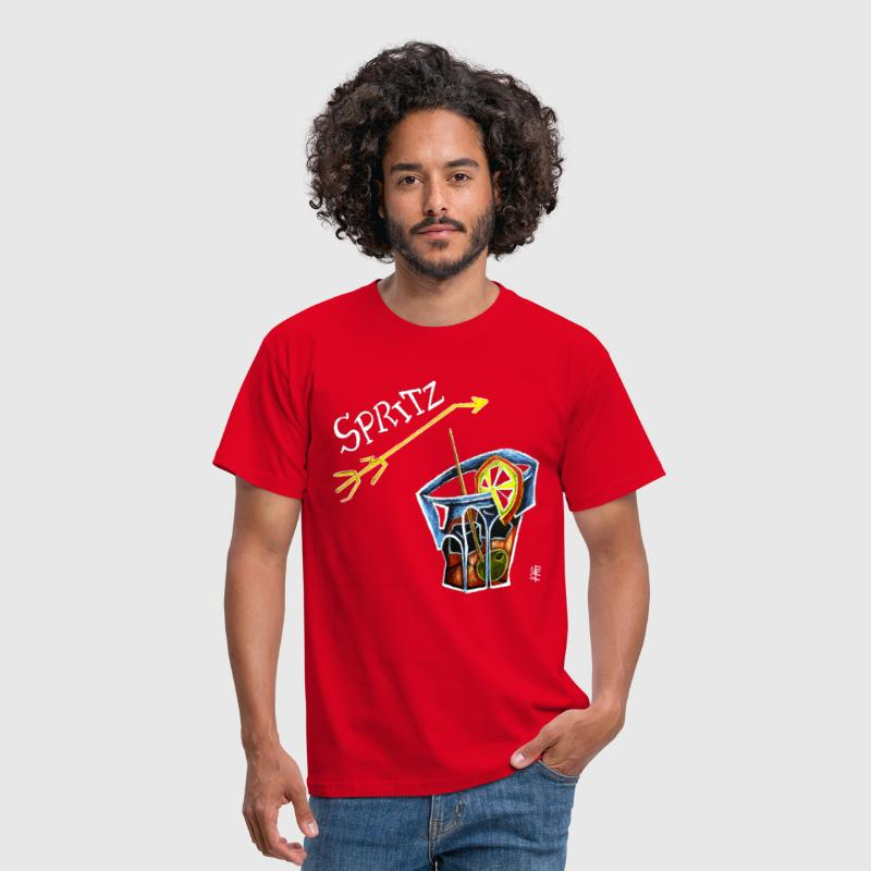 Spritz Aperol Party T-shirts Venice Italy - Energy Drink - Mannen T-shirt
