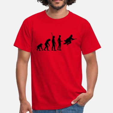 Potter evolution_potter_1c_a - Mannen T-shirt