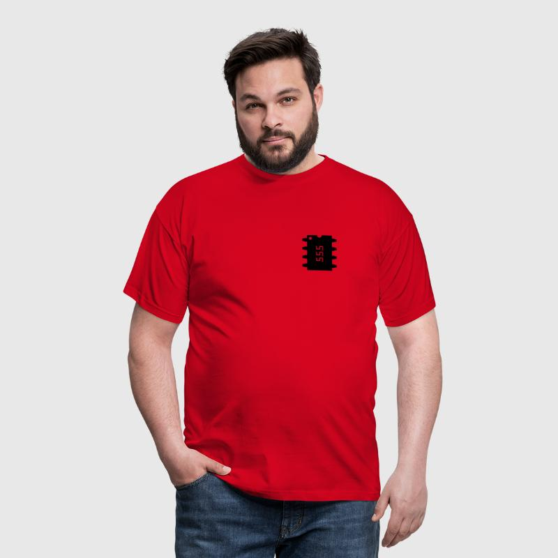 555 Number of the beast - Männer T-Shirt