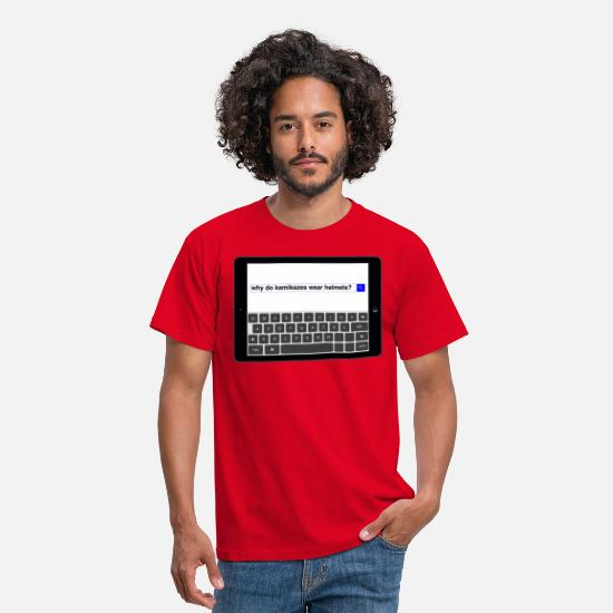 Search T-Shirts - Search - Kamikazes - Men's T-Shirt red