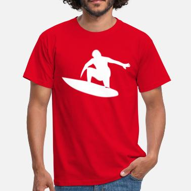 Favorite Surfing, surfboard, surfers - Men's T-Shirt