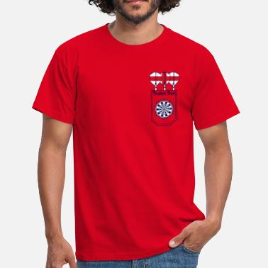 English Dart (ID: 010004) - Men's T-Shirt