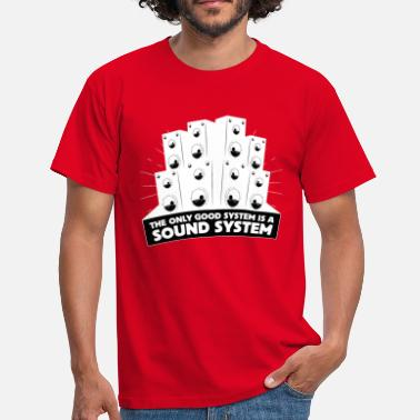 Sound System - T-shirt Homme