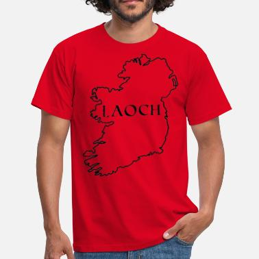 Carte D'enregistrement carte irlande - T-shirt Homme