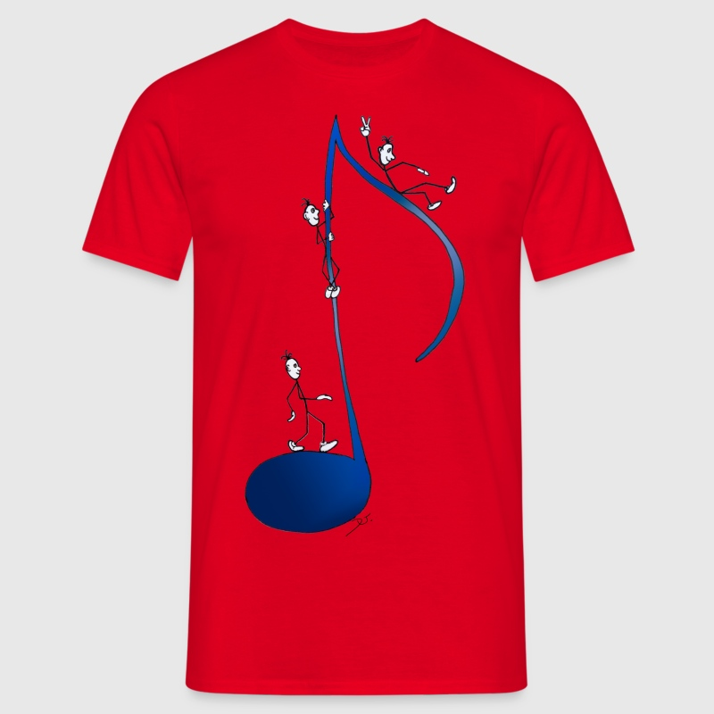 Spaß an der Note / fun with a note - Men's T-Shirt