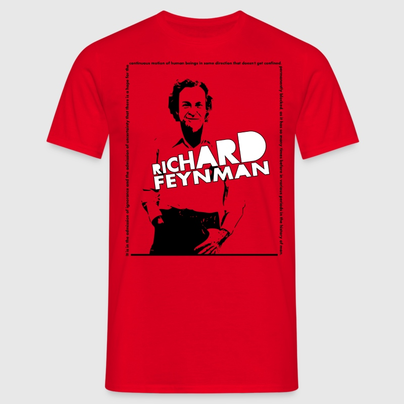 Richard Feynman - Men's T-Shirt