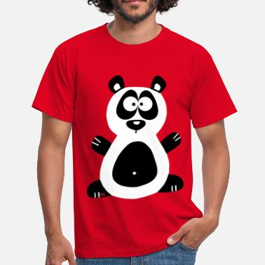 Manga Panda Panda Manga Love China Zoo Animal - Mannen T-shirt