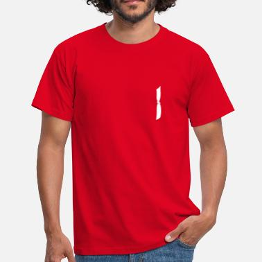 Movement knoten (white knot) - Männer T-Shirt