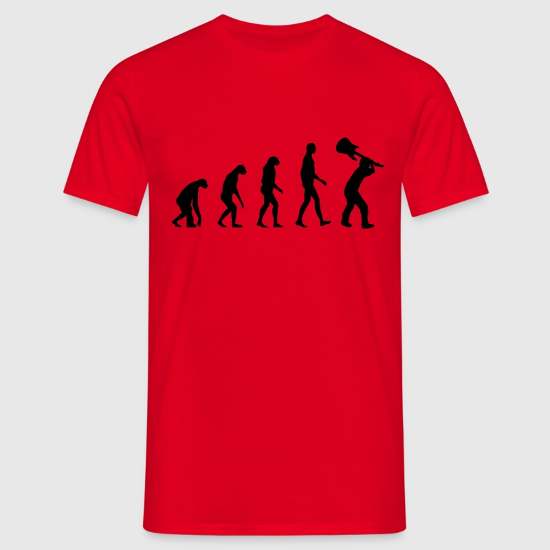 Evolution Rock - Musik - T-shirt Homme