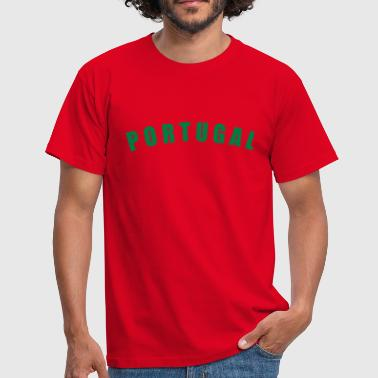 Bainderas PORTUGAL Länder countries futebol fútbol football Fußball WM Sports - eushirt.com - Männer T-Shirt