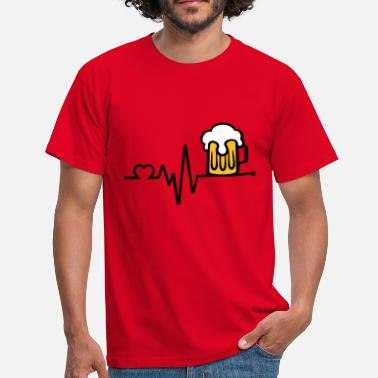 Beer Time i love beer, Beer Mug - Men's T-Shirt