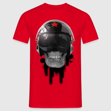 tshirt ccp helmet of death by customstyle - T-shirt Homme