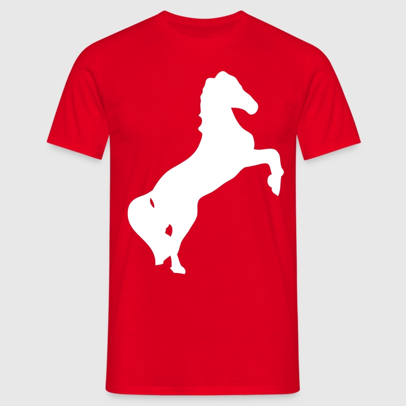 cheval horse silhouette ombre shadow1 - T-shirt Homme