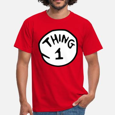 Thing 1 And Thing 2 thing 1 - Men's T-Shirt