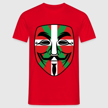 basque anonymous  - T-shirt Homme