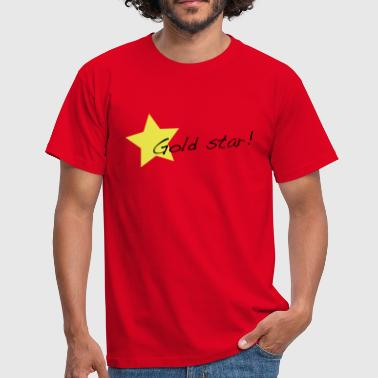 Gold Stars gold star - Men's T-Shirt