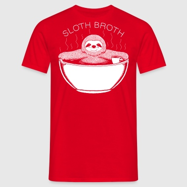 Sloth Broth - Männer T-Shirt