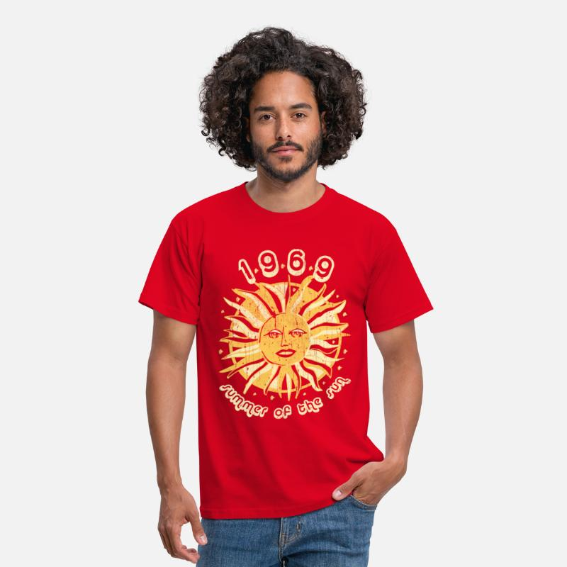 70db9939771a 1969 T-Shirts - 1969 summer of the sun graphic - Men s T-Shirt