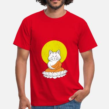 Dragon Ball Z Cat Buddha Master Vintage - T-shirt Homme