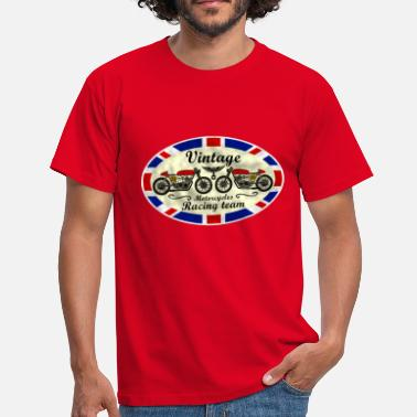 Vintage Motorcycle motorcycles vintage team 03 - Men's T-Shirt