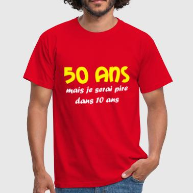 50 ans - Men's T-Shirt