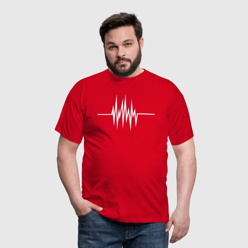 fréquence cardiaque - T-shirt Homme