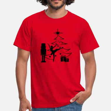 Nutcracker Ballerina Christmas - Men's T-Shirt