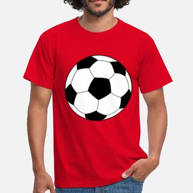 Soccer Ball soccer football ball - T-skjorte for menn