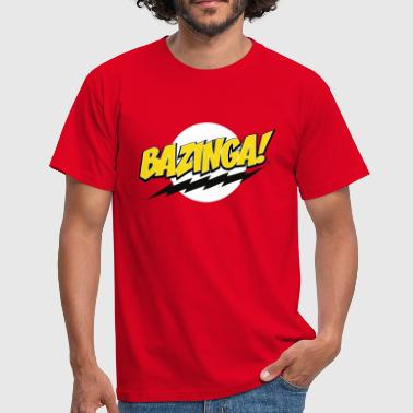 The Big Bang Theory Bazinga! Teenage T-Shirt - Herre-T-shirt