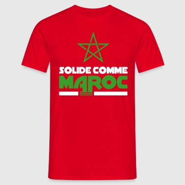 Maroc - Solide Comme Maroc - T-shirt Homme
