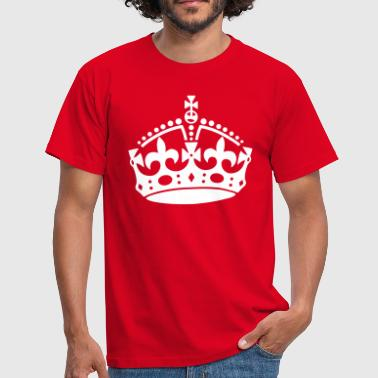 Keep Calm Crown Keep Calm Crown - Maglietta da uomo