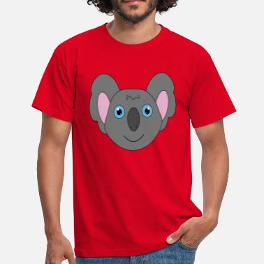 Keyword Cute koala - Men's T-Shirt