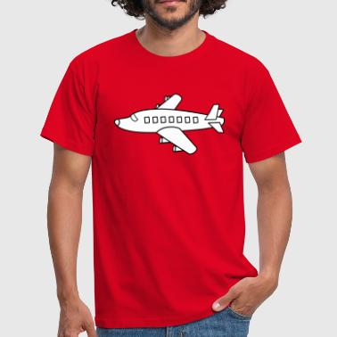 Cool plane. Off to the holidays - Men's T-Shirt