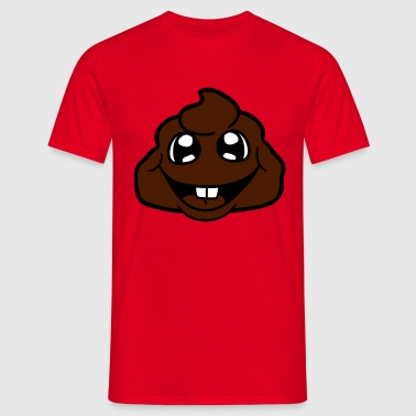 shit heap little poop kot bazille virus - Herre-T-shirt