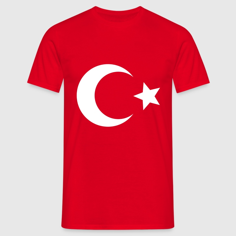 Türkiye - Turkey - Mannen T-shirt