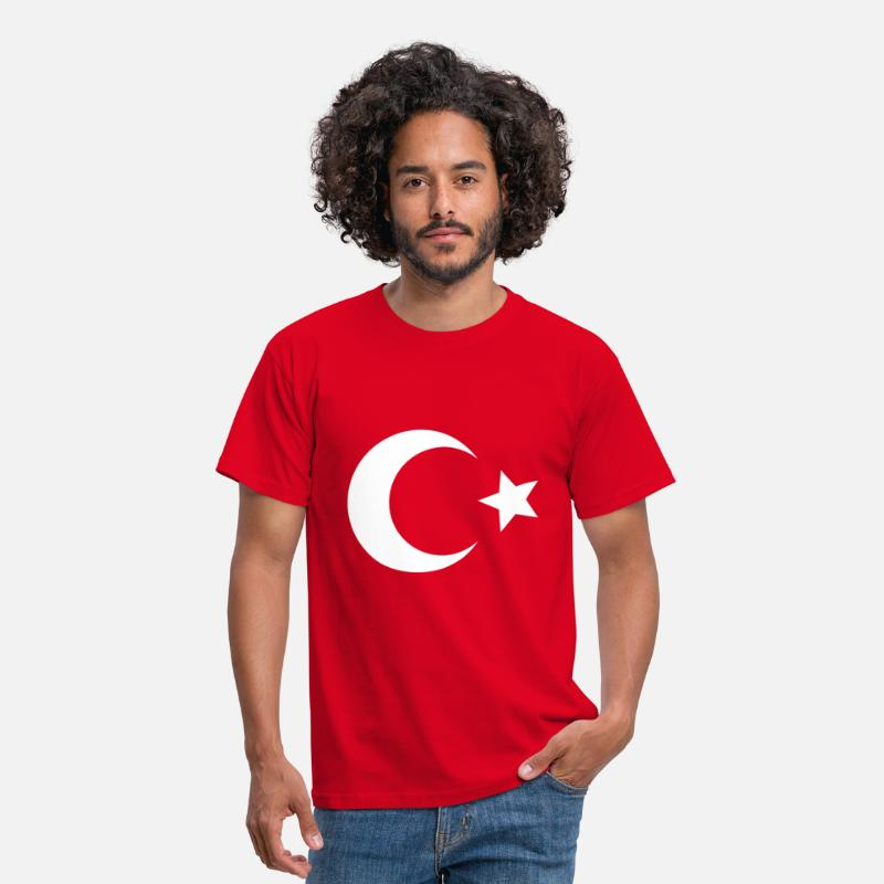 Turkey T-Shirts - Türkiye - Turkey - Men's T-Shirt red
