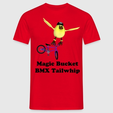Magic Bucket BMX Tailwhip - Men's T-Shirt