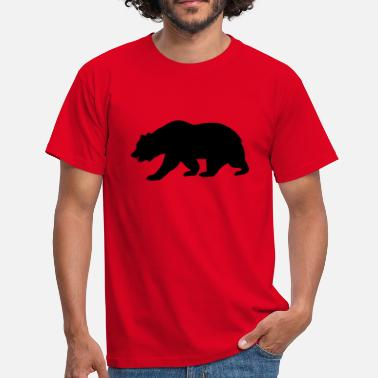 Sierra Nevada California Bear - Men's T-Shirt