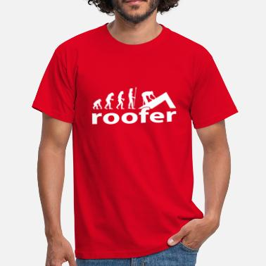 Workman evolution_roofer - Men's T-Shirt