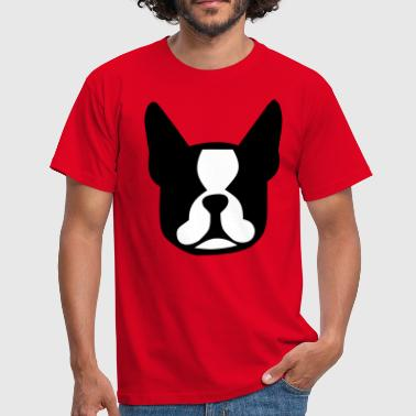 boston terrier - T-shirt Homme