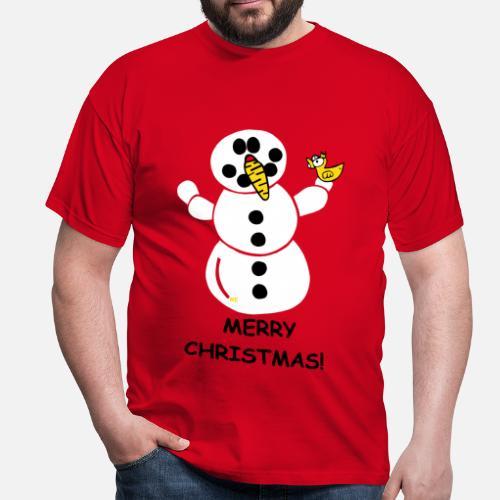 Winter Merry Christmas Schneemann Freunde Ugly USA von ...