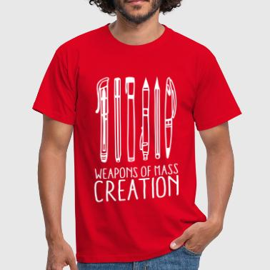 Weapons of mass creation (1c) - Männer T-Shirt