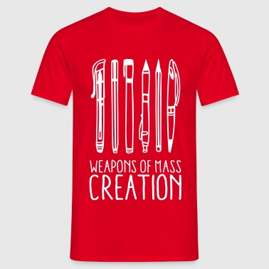 Weapons of mass creation (1c) - T-shirt Homme