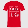 Am-Er-I-Ca (america) - Full - Herre-T-shirt