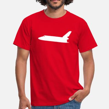 Spacemonster Spaceshuttle rymdbil - T-shirt herr
