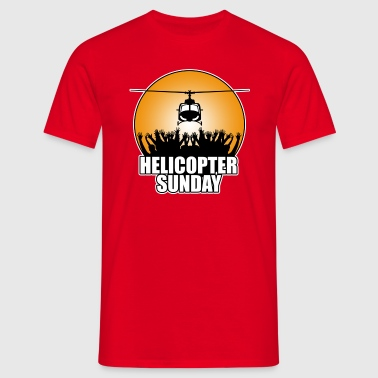 helicopter_sunday - Men's T-Shirt
