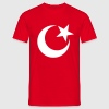 ISLAM, half-moon, Christian, church, Turkey, mosque, cross, Muezzin, minaret, flag, flag, David star, Jew, God, Israel, synagogue, Aaron, hexadecimal gram, religion, Amen, benediction, Imam  - Men's T-Shirt