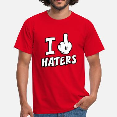Fuck Mouse I fuck haters 3c - Men's T-Shirt