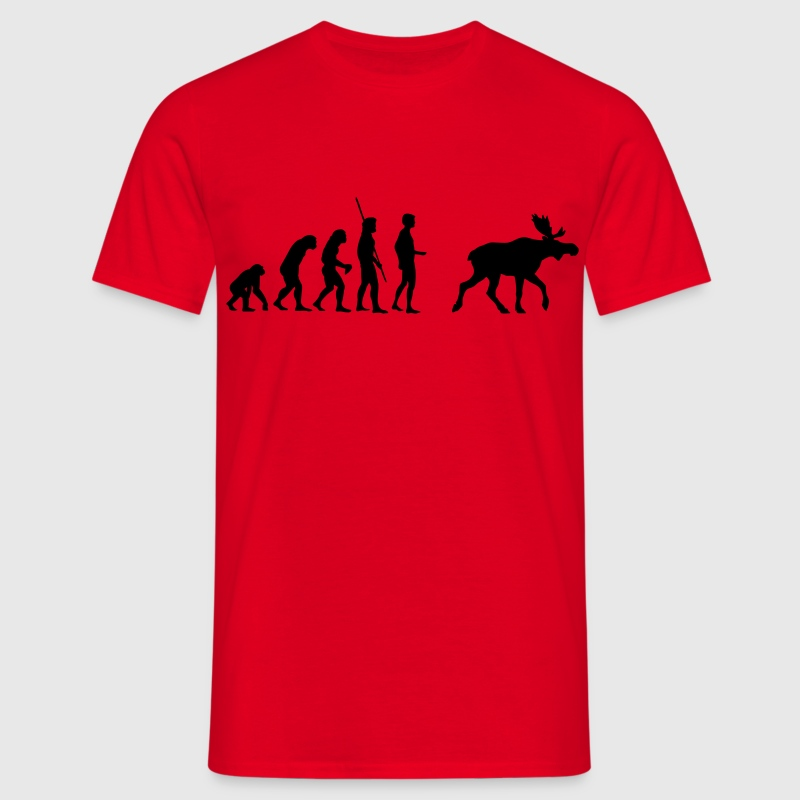 Evolution Moose  - Men's T-Shirt